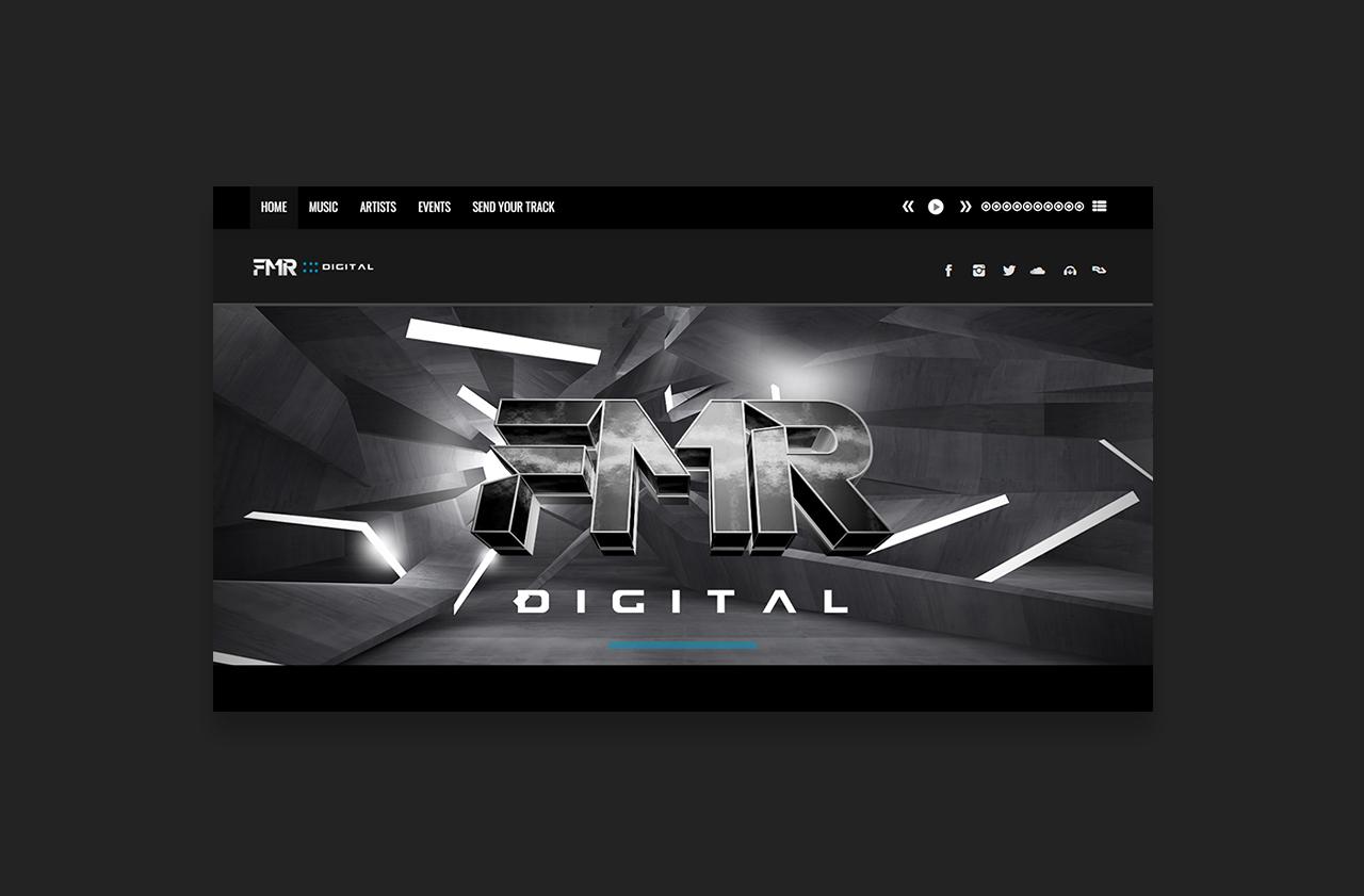 Music Lable Website FMR